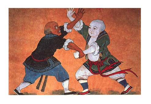Monjes Shaolin